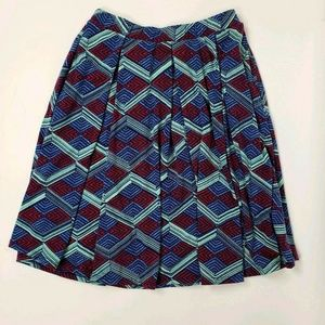 LULAROE Geometric Madison Skirt Medium